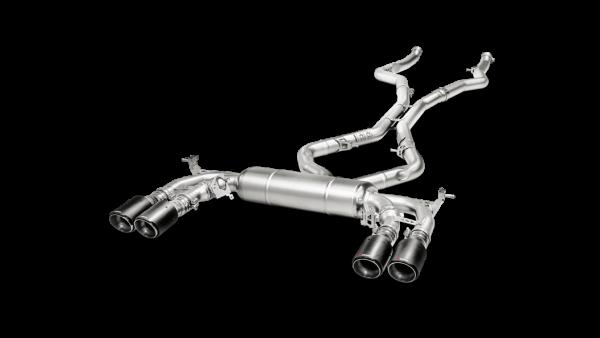 toba sport Akrapovic BMW X6 F16/F86 (2014-) doar pe tunershop.ro