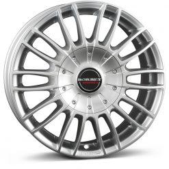 Jante aliaj BORBET CW 3 sterling silver 222525 din stockul tunershop.ro