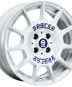 Jante aliaj SPARCO SPARCO TERRA white blue lettering W29046605G7 din stockul tunershop.ro