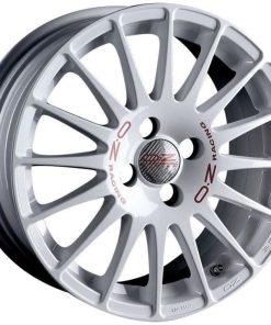 Jante aliaj OZ SUPERTURISMO WRC WHITE RED LETTERING W0168600333 din stockul tunershop.ro