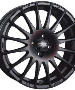 Jante aliaj OZ SUPERTURISMO GT MATT BLACK RED LETTERING W0168600379 din stockul tunershop.ro