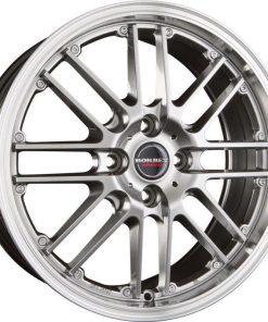 Jante aliaj BORBET CW 2 hyper rim polished 221040 din stockul tunershop.ro