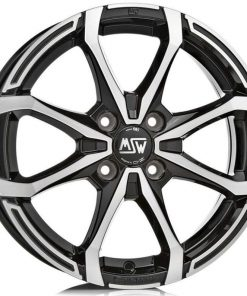 Jante aliaj MSW MSW X4 matt black full polished W19263002T59 din stockul tunershop.ro