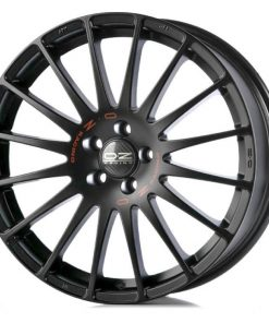 Jante aliaj OZ SUPERTURISMO GT MATT BLACK RED LETTERING W0167200279 din stockul tunershop.ro