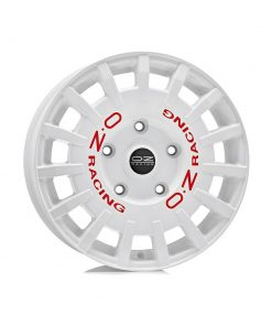 Jante aliaj OZ RALLY RACING VAN RACE WHITE RED LETTERING W01A5900133 din stockul tunershop.ro