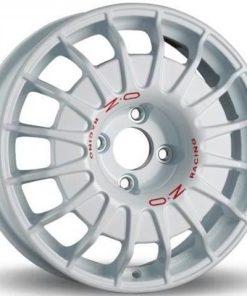 Jante aliaj OZ RALLY NEVE AL RACE WHITE RED LETTERING W0177400333 din stockul tunershop.ro