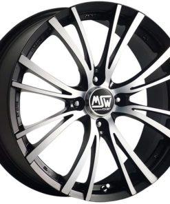 Jante aliaj MSW MSW 20-4 matt black full polished W1916350259 din stockul tunershop.ro