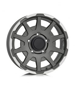 Jante aliaj SPARCO SPARCO DAKAR MATT DARK GREY LIP POLISHED W29080001TM7 din stockul tunershop.ro