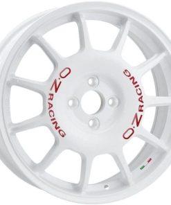Jante aliaj OZ LEGGENDA RACE WHITE RED LETTERING W01872202A33 din stockul tunershop.ro