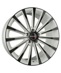 Jante aliaj BORBET BLX white black glossy 222204 din stockul tunershop.ro