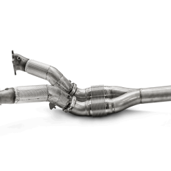 Downpipe / Link pipe set (SS) for stock turbochargers doar pe tunersho.ro Cel mai mare magazin online de aftermarket competitie din estul Europei.