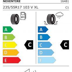 Eficienta de franare pentru anvelopa Nexen Nblue-4Season | tunershop.ro