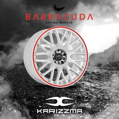 Tunershop.ro este unic importator Barracuda in Romania Cel mai mic pret garantat pentru Jante BARRACUDA KARIZZMA   7.5x17 4x114.3 ET35 CB73.1